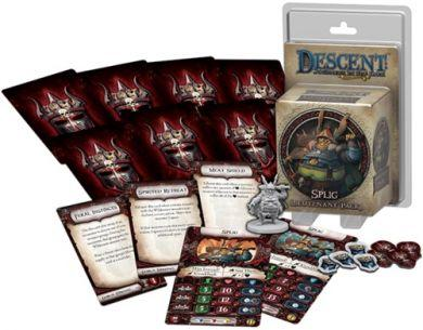 Descent: Journeys in the Dark (Second Edition) - Lieutenant Pack Splig