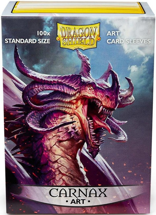 Dragon Shield 100 Count Standard ART Sleeves CARNAX