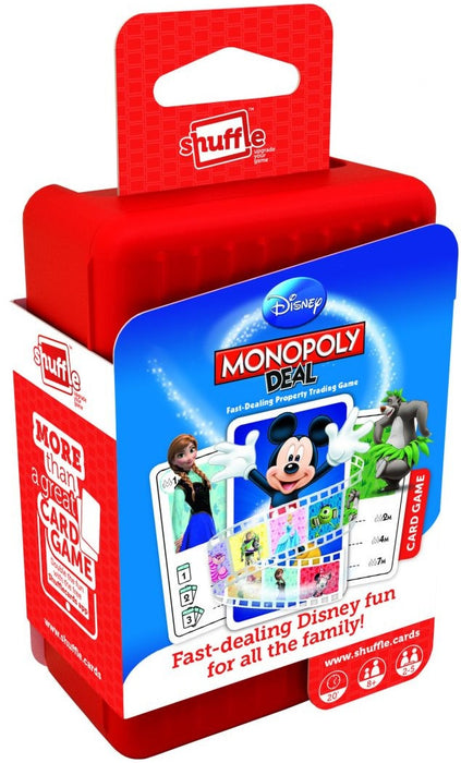 Disney Monopoly Deal (Shuffle Card Game)