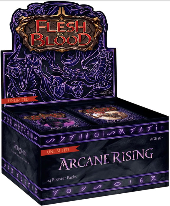 Flesh and Blood TCG Arcane Rising UNLIMITED Booster Display (24)