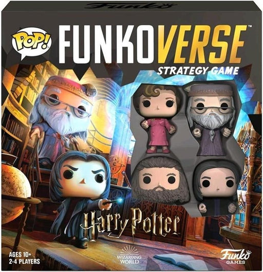 Funkoverse Harry Potter 102 4 -Pack Expandalone Strategy Board Game