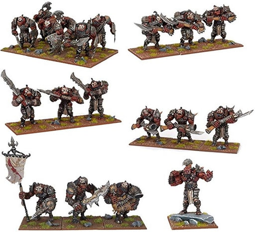 Kings of War - Ogres Army 2015