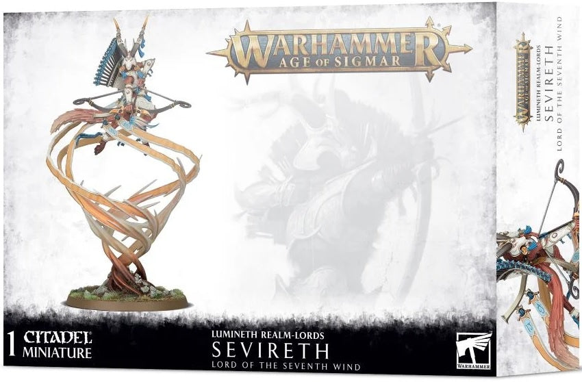 Age of Sigmar Lumineth Realm-lords Sevireth, Lord of the Seventh Wind