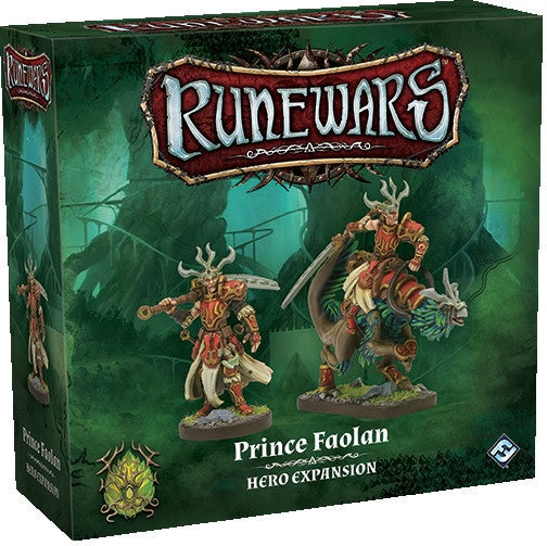 Runewars Miniatures Game: Prince Faolan Hero Expansion