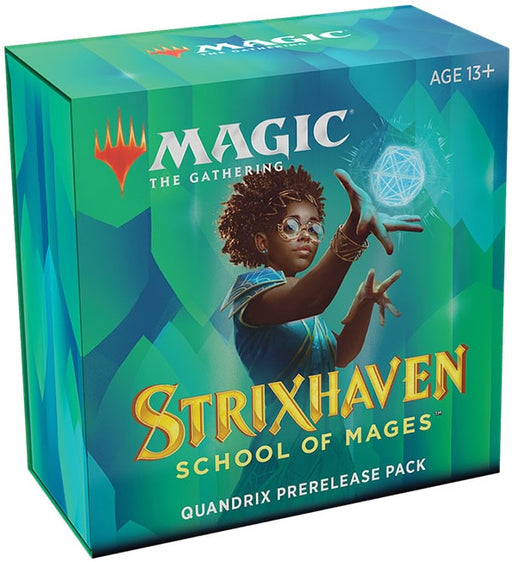 Magic the Gathering Strixhaven School of Mages Prerelease Pack Quandrix Pre Order