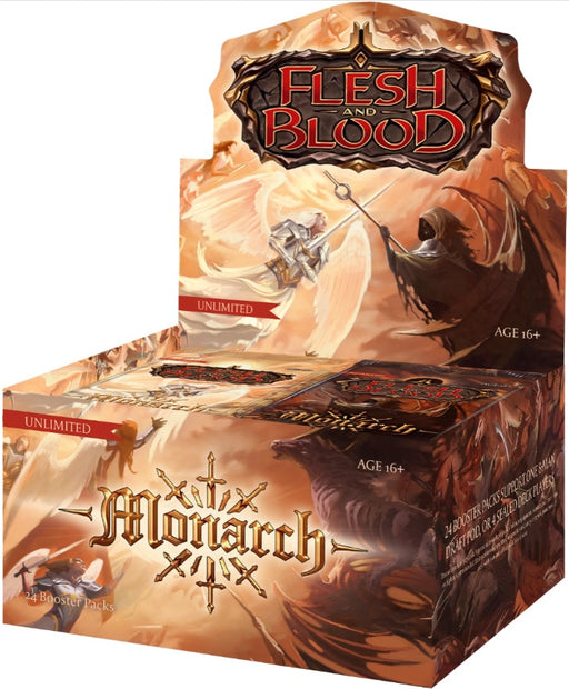 Flesh and Blood TCG Monarch Unlimited Booster Display (24) Pre Order