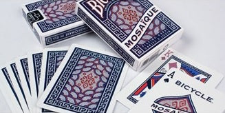 Bicycle Playing Cards - Mosaique