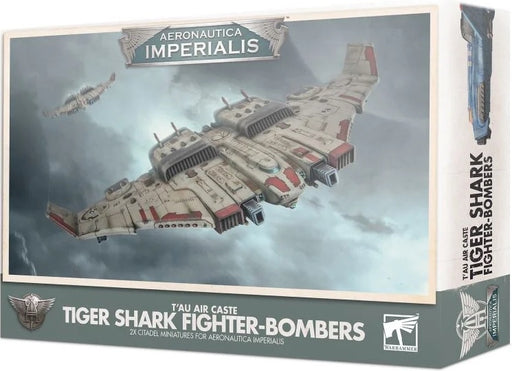 Aeronautica Imperialis T'au Air Caste Tiger Shark Fighter 500-32-Bombers