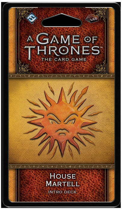 A Game of Thrones: The Card Game (Second Edition) House Martell Intro Deck