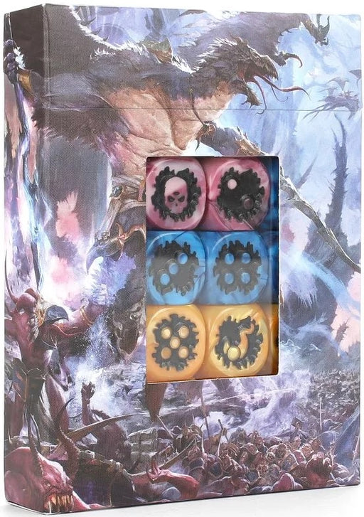 Age of Sigmar Disciples of Tzeentch Dice