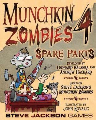 Munchkin Zombies 4 Spare Parts ON SALE