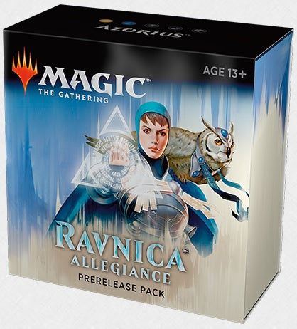 Magic the Gathering: Ravnica Allegiance Pre Release Pack - Azorius