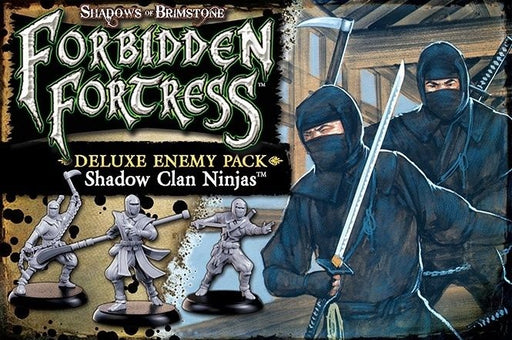 Shadows of Brimstone Forbidden Fortress Ninja Deluxe Enemy Pack