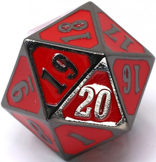 Die Hard Dice Metal MTG Roll Down Counter - Sinister Red (Single)