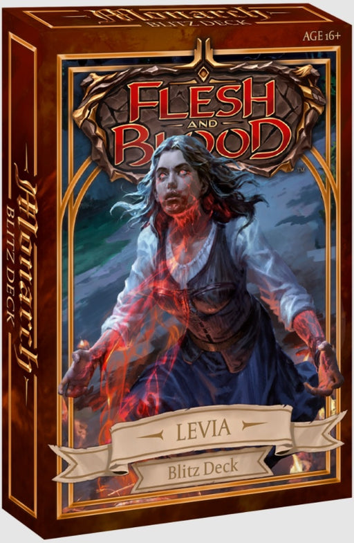 Flesh and Blood TCG Monarch Blitz Deck - Levia