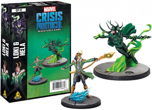 Marvel Crisis Protocol Loki and Hela Character Pack