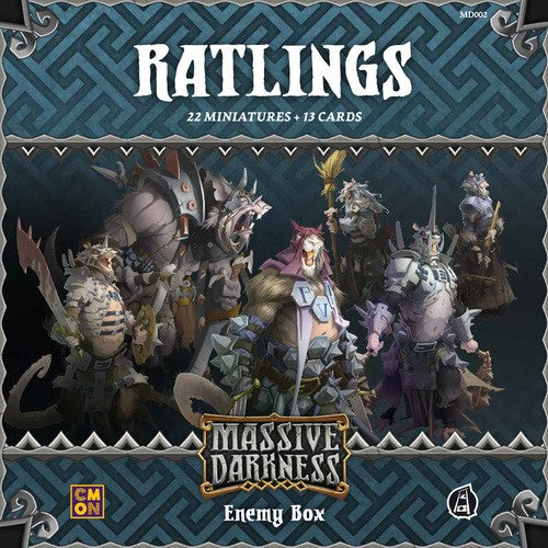 Massive Darkness Enemy Box Ratlings
