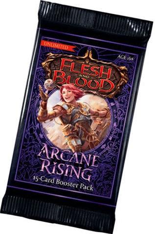 Flesh and Blood TCG Arcane Rising UNLIMITED Booster