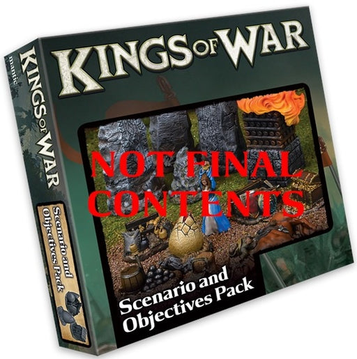 Kings of War Scenario and Objective Set Pre Order