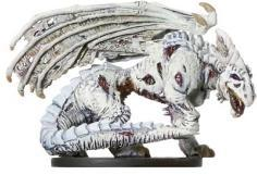 Dungeons & Dragons Deathknell: 60 Zombie White Dragon