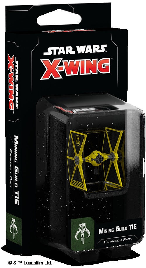 Star Wars X-Wing Mining Guild Tie Expansion Pack 2nd Edition Pre-Order