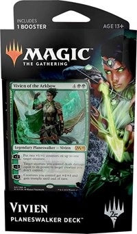 Magic the Gathering: Core Set 2019 Planeswalker Deck Vivien