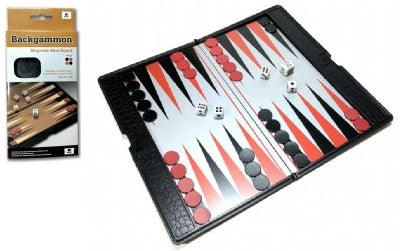 Backgammon Travel Set 20cm
