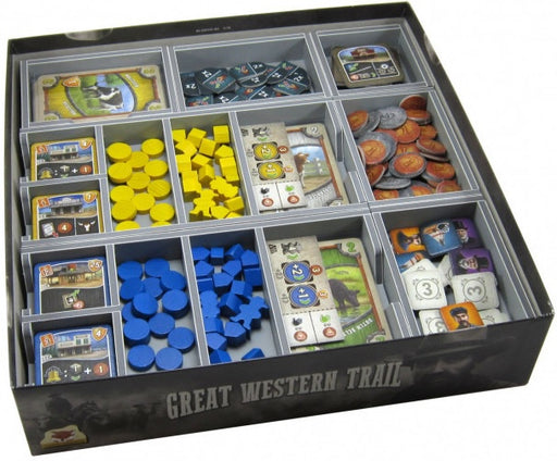 Folded Space Game Inserts - Great Western Trail