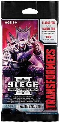 Transformers TCG War for Cybertron Siege II Booster
