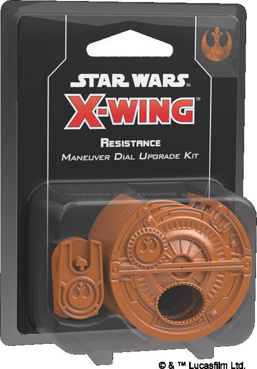 Star Wars X-Wing Resistance Maneuver Dial Upgrade Kit 2nd Edition Pre-Order