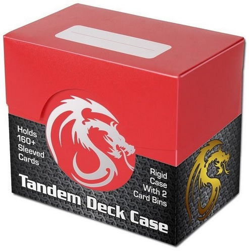 BCW Deck Case - Tandem - Red