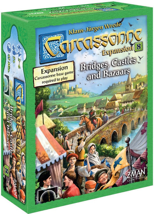 Carcassonne Bridges Castles & Bazaars Expansion