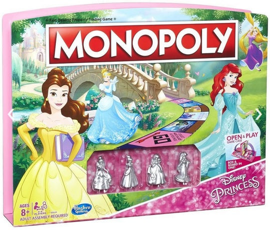 Disney Princess 3D Monopoly On Sale