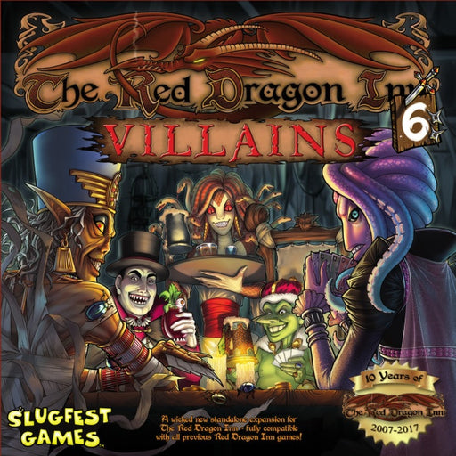 The Red Dragon Inn 6 Villains