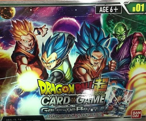 Dragon Ball Super Card Game Booster 01 Galactic Battle Booster Box