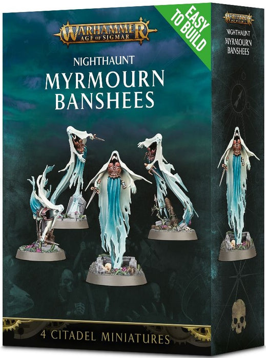 Warhammer Age of Sigmar: Easy to Build Myrmourn Banshees
