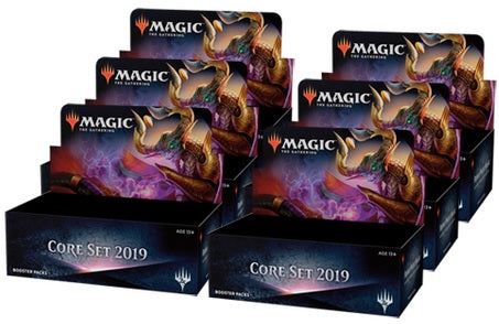 Magic the Gathering: Core Set 2019 Booster Box Case