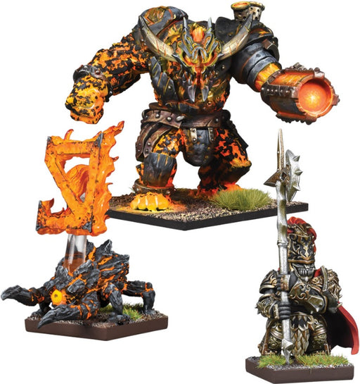 Kings of War Vanguard: Abyssal Dwarf Warband Booster