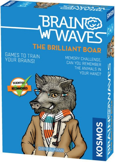 Brain Waves the Brilliant Boar