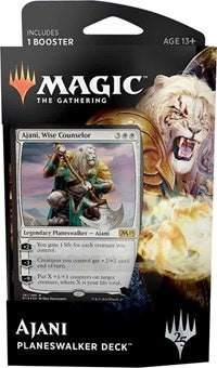 Magic the Gathering: Core Set 2019 Planeswalker Deck Ajani
