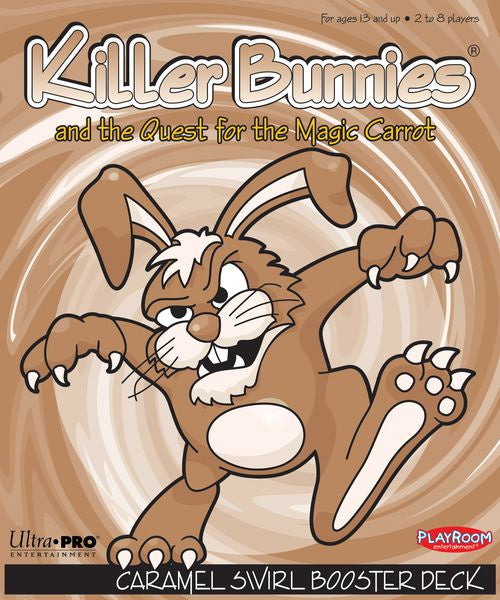 Killer Bunnies and the Quest for the Magic Carrot Caramel Swirl Booster