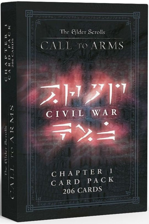 Elder Scrolls Call to Arms Chapter 1 Card Pack Civil War