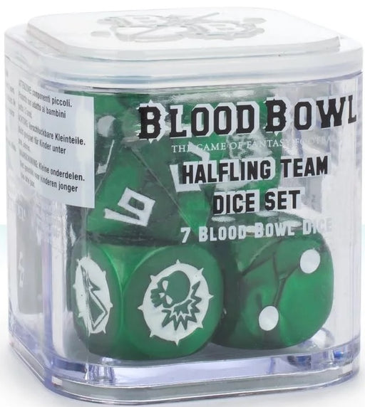Blood Bowl: Halfling Team Dice
