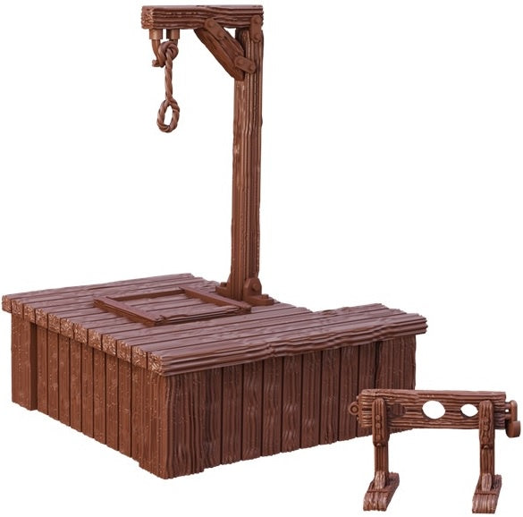 Terrain Crate: Gallows and Stocks
