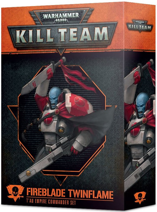 Kill Team Fireblade Twinflame T'au Empire Commander Set