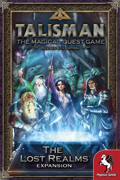 Talisman the Lost Realms Expansion