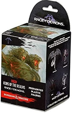 D&D Icons of the Realms Rage of Demons Set 3 Booster