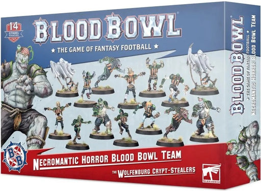 Blood Bowl Necromantic Horror Blood Bowl Team The Wolfenburg Crypt-Stealers