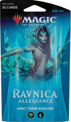 Magic the Gathering: Ravnica Allegiance Theme Booster - Simic