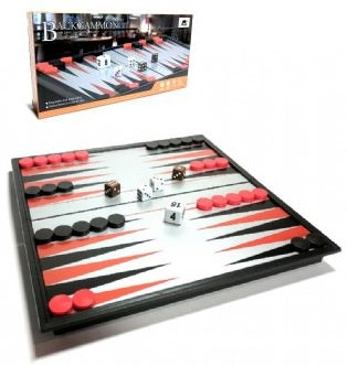 Backgammon Folding Magnetic Board 25cm